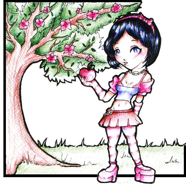 - Snow White - by NoctiaVG