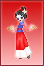 Disney Dollz: Mulan by NoctiaVG