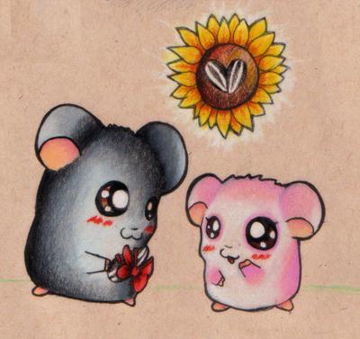 - Mice - by NoctiaVG