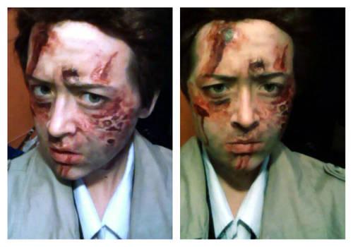 Castiel S7E1 make-up