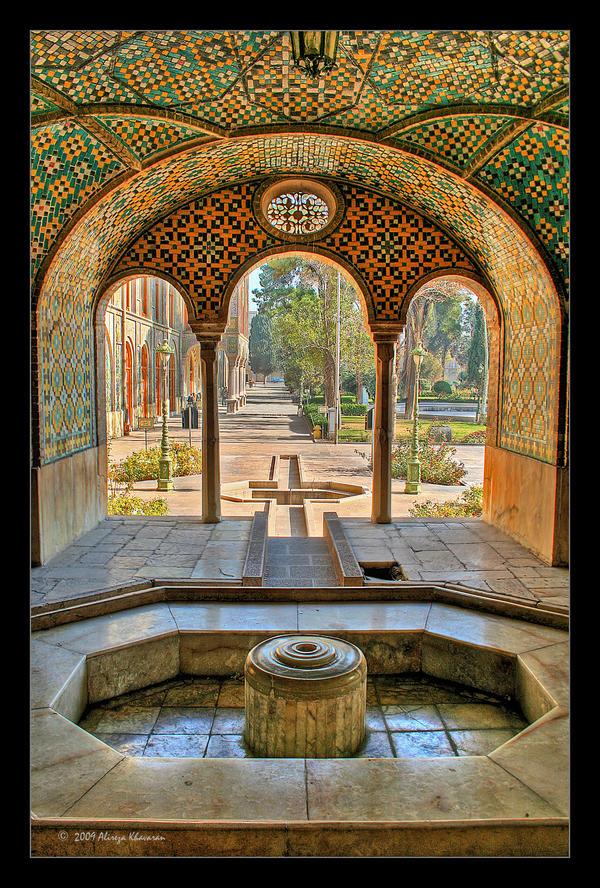 Golestan Palace by alireza1