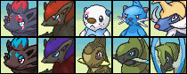 All my Pokemon teams for PMD