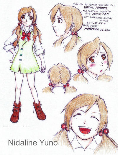 FMA OC: Nidaline yuno by uomie
