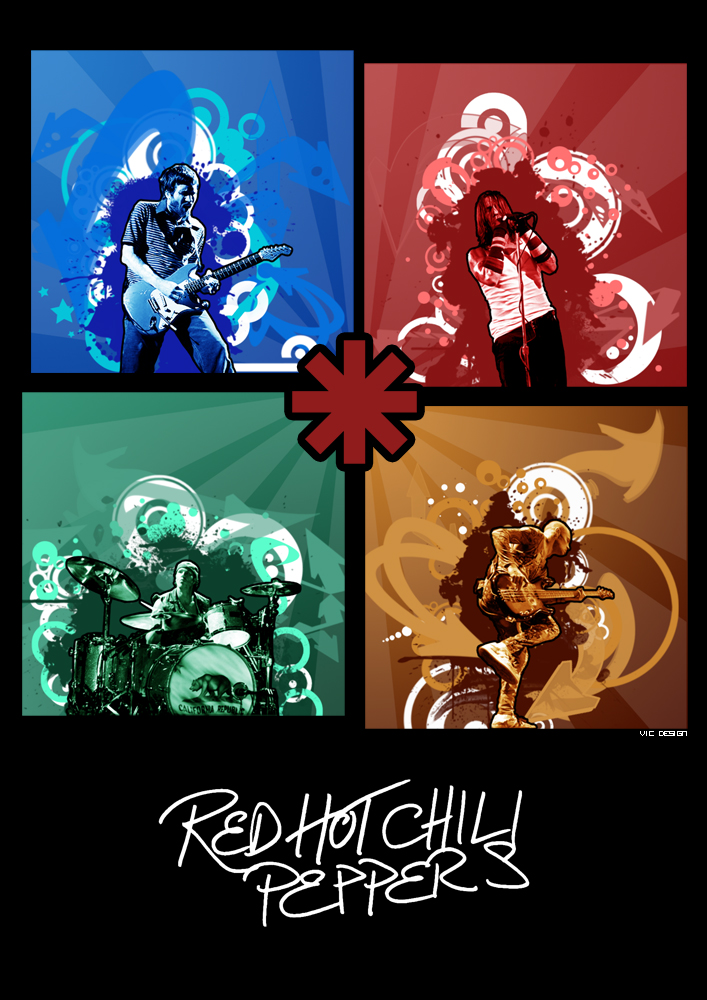 Redhotchilipeppers Poster By Th3zephyr On Deviantart