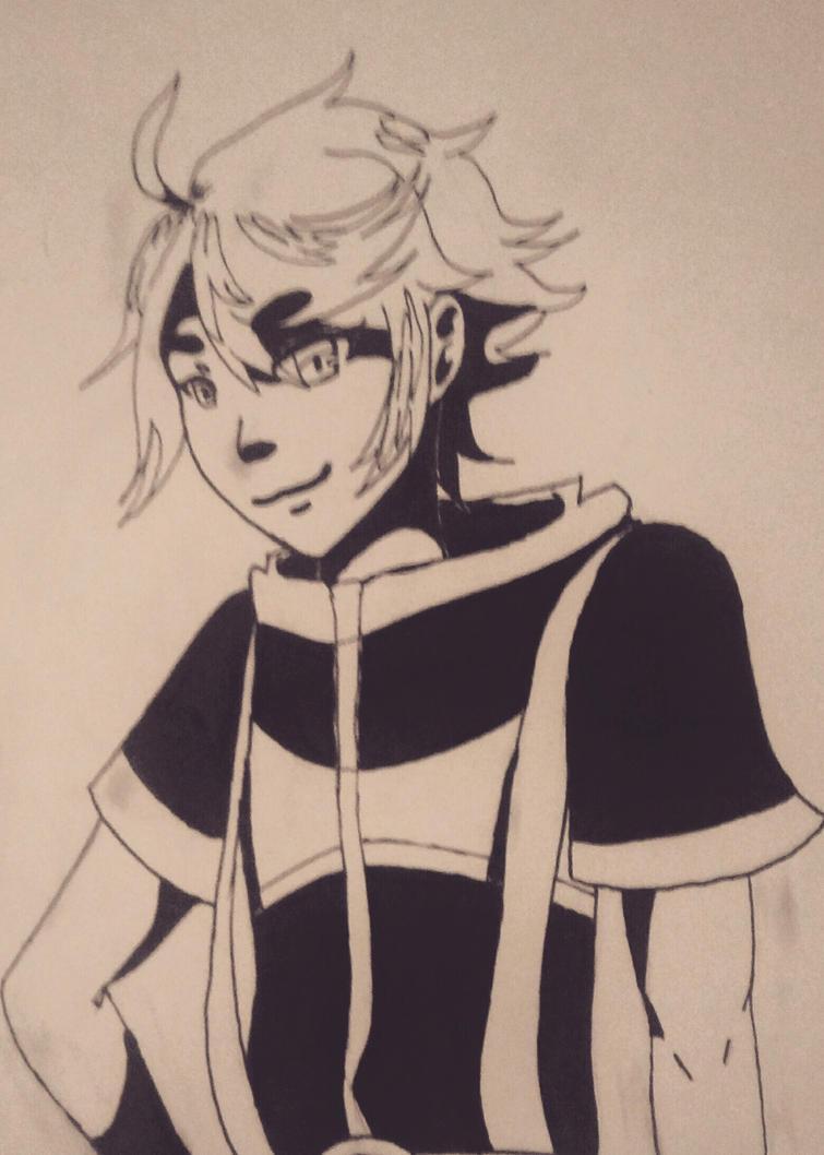 I tried out manga pens again. by Oblivion772