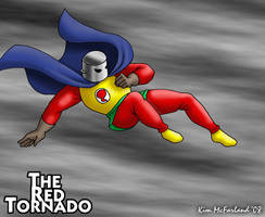 The Golden Age Red Tornado by Negaduck9