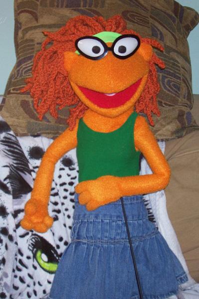 Skeeter puppet by Negaduck9