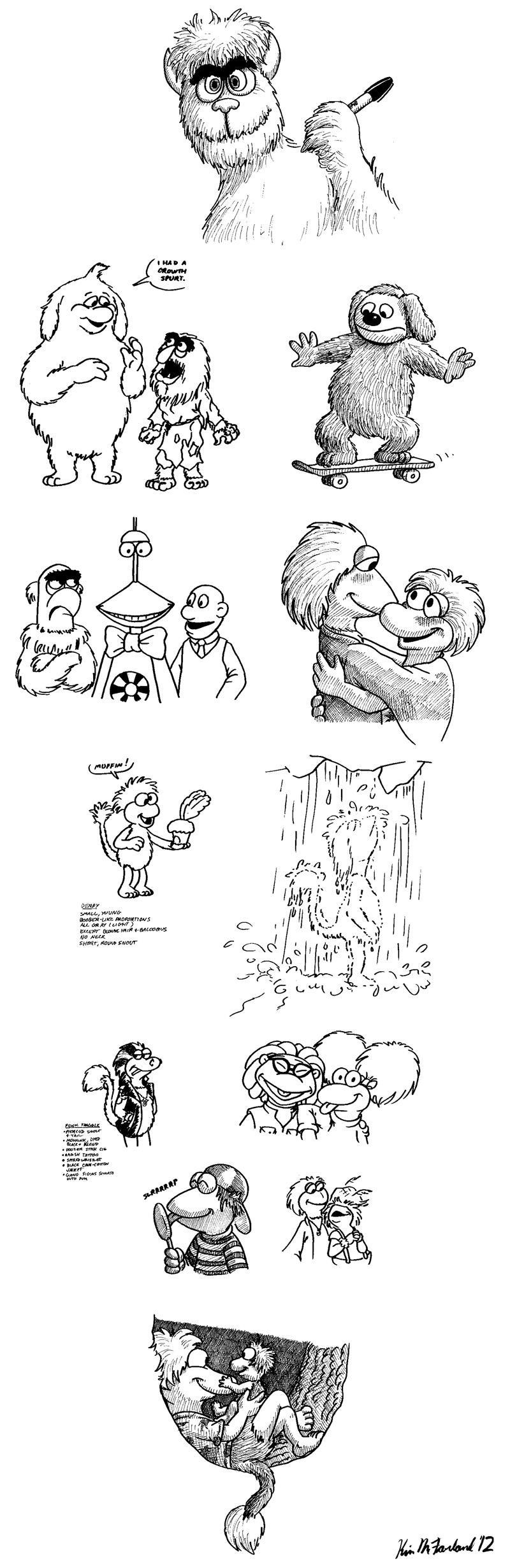 Super Sharpie Doodle Dump by Negaduck9