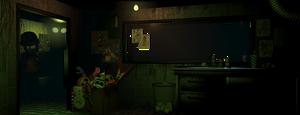 Fazbear's Fright security station