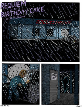 FNAF: Requiem with a Birthday Cake, page 1