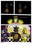 FNAF: Requiem with a Birthday Cake, page 6