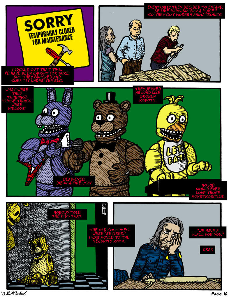 FNAF: Requiem with a Birthday Cake, page 16 by Negaduck9 ...