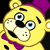 Plush Fredbear emoticon