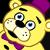 Plush Fredbear emoticon by Negaduck9