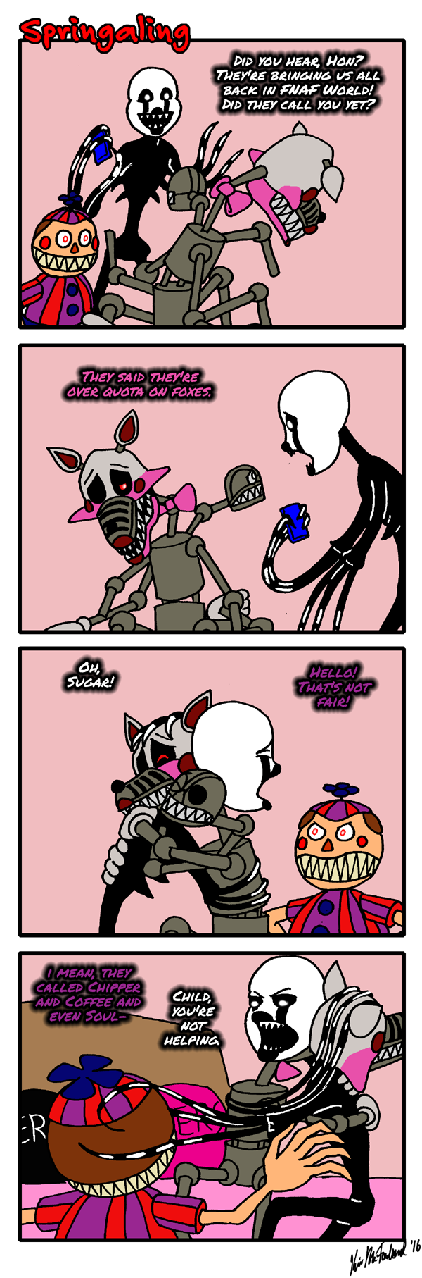 Bizarre nightmare femdom comic
