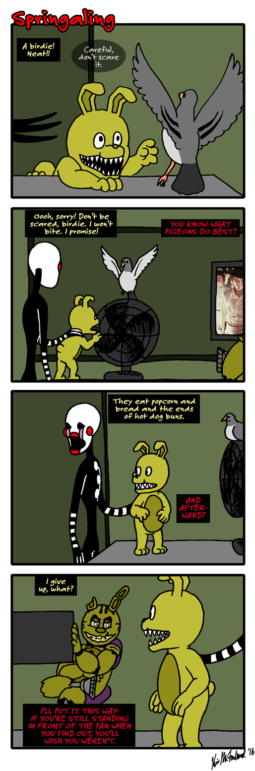 Springaling 180: When the Midden hits the Windmill by Negaduck9