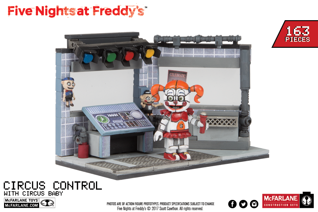 Coming our way from McFarlane: Circus Control set! by Negaduck9