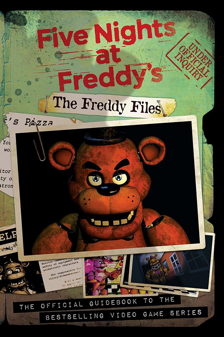 2017 05 freddy fazbear costume amazon -  The Freddy Files Cover Art And Description By Negaduck9 On Deviantart