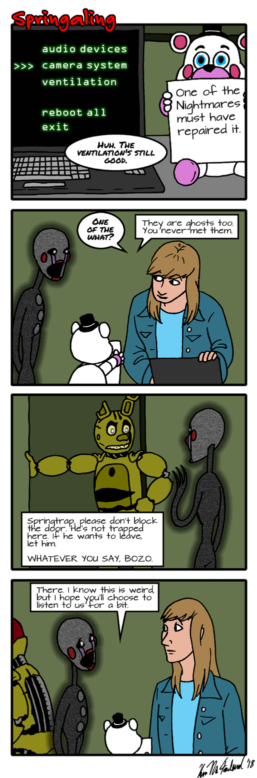 Springaling 352: Hurble Dee by Negaduck9