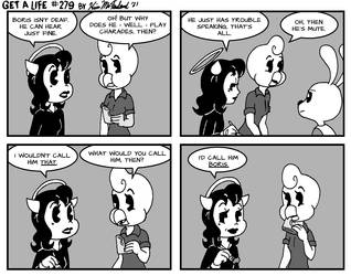 Bendy and Alice Angel in: Get a Life 279