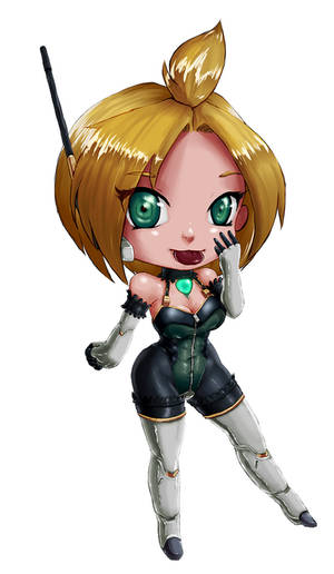 Chibi Ka-oS 5 - short hair