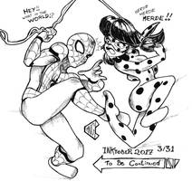 Inktober 2017 3/31 - To be continued by pchaos720