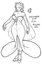 Inktober 2017 17/31 - Bride Human Rouge by pchaos720