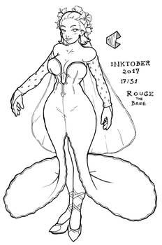 Inktober 2017 17/31 - Bride Human Rouge