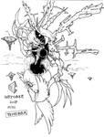 Inktober 2017 25/31 - Tenebra destroyer of all