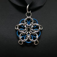 Blue Celtic Star Pendant by Utopia-Armoury