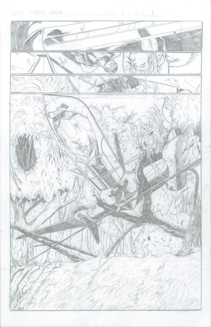 X-Men Savage Land pg 1 by RadPencils