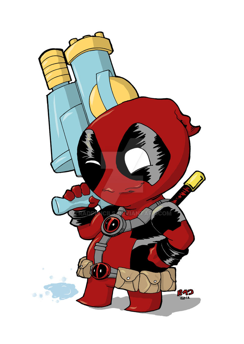 Baby Deadpool By Radpencils On Deviantart