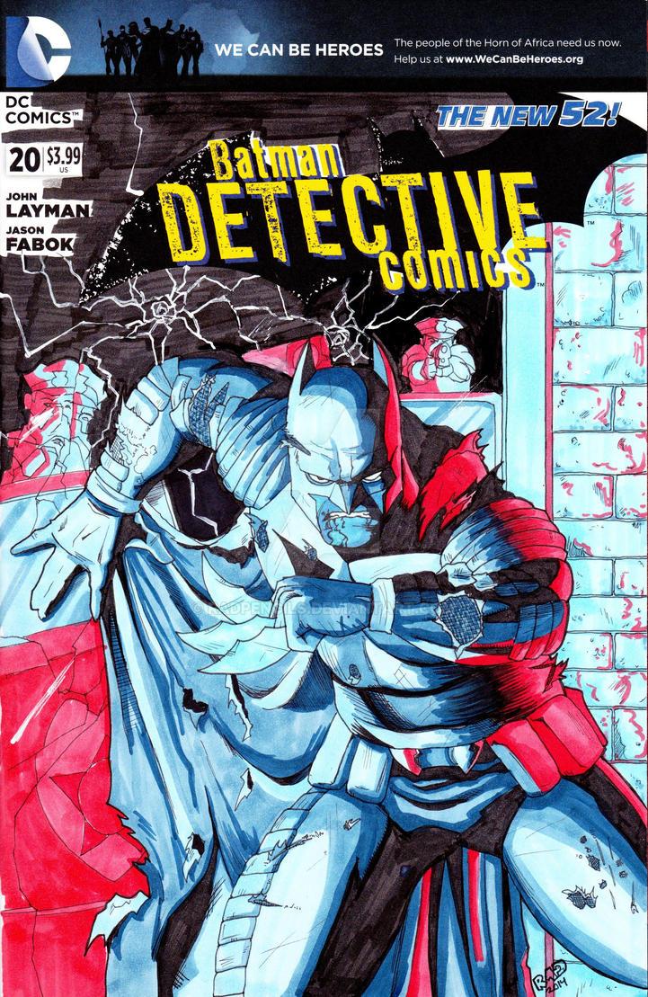 Detective Comics Batman Zero Year by RadPencils