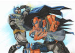 Batman vs Deathstroke 2014