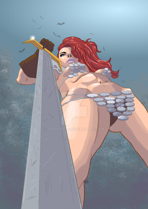 Red Sonja by RadPencils