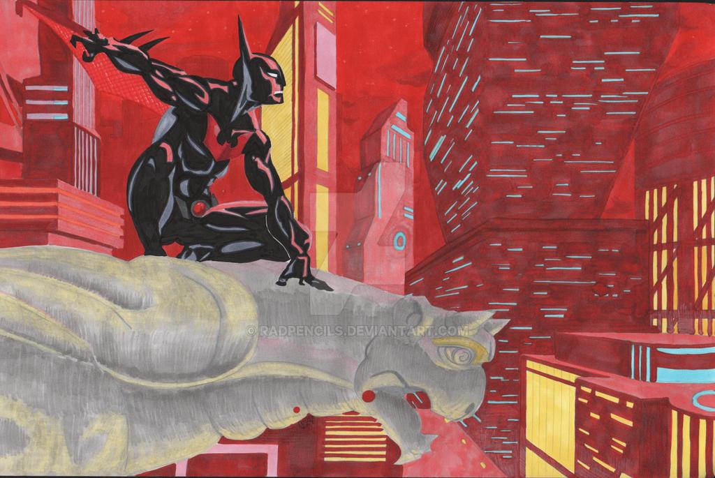 Batman Beyond 2015 Splatter by RadPencils