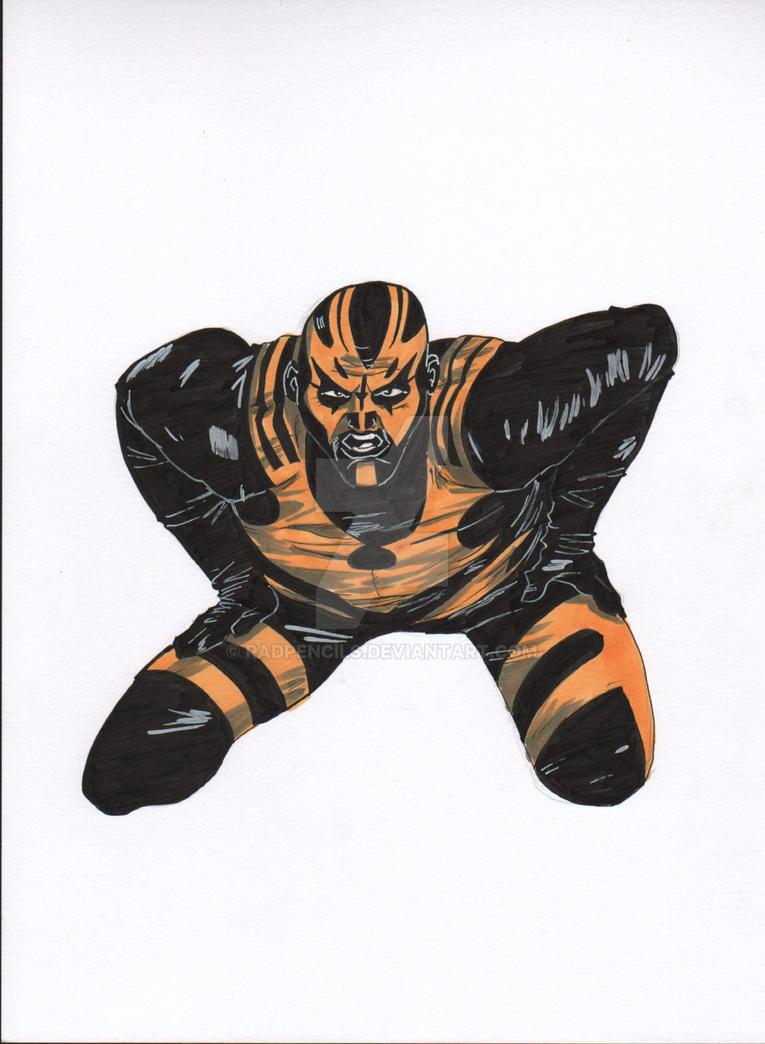 WWE Goldust by RadPencils