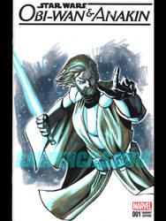 Obi-Wan Kenobi Blank Cover 2016