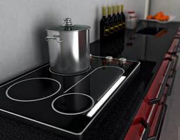Kitchen Worktop by Cage-waRp
