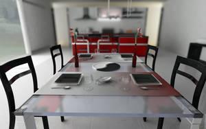 Kitchen Table DOF by Cage-waRp
