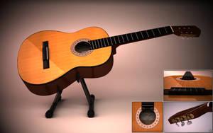 Guitar by Cage-waRp
