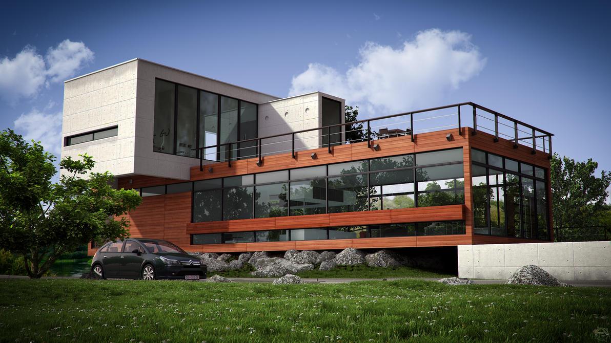Schmitz House by Cage-waRp