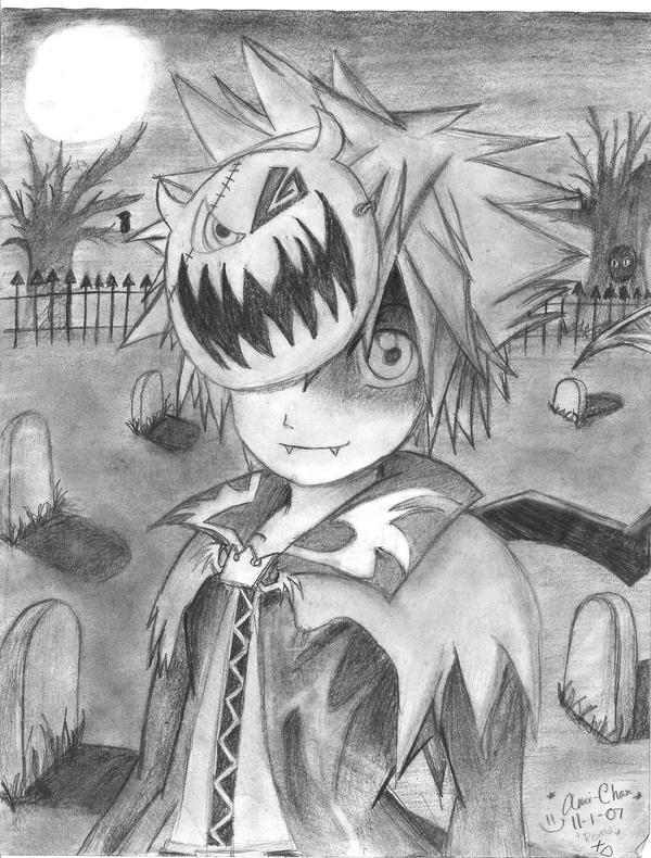 ::Halloween Town Sora:: by Shikiri-Amiru