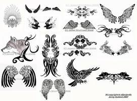 Tattoo dump by xXjenjenXx