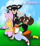 Porkshop N Flatscreen Sonic Style by 0JosephTheHedgehog0