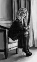 Juno Temple's Chair
