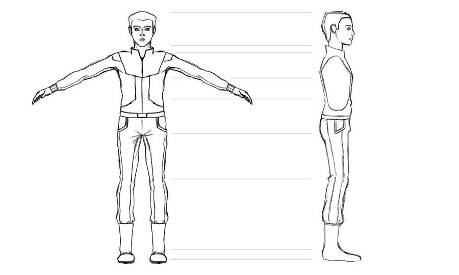 Terra Survival Ref Sheet Character#1