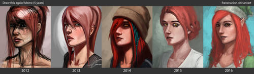 Draw this again: Amber 5 years