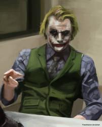 Figure study #9: Joker