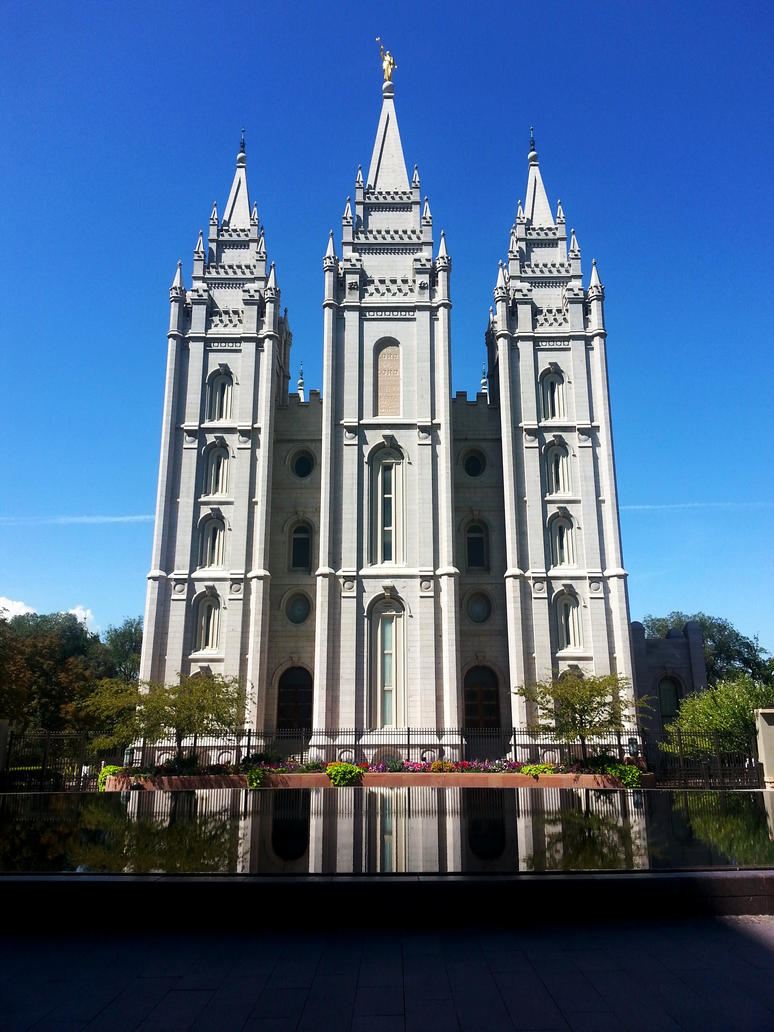 The Salt Lake Temple by CuchulainnsSickbed